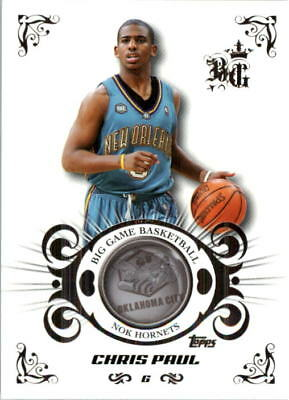 275687f5be35 2006-07 Topps Big Game New Orleans Hornets Basketball Card  42 Chris Paul