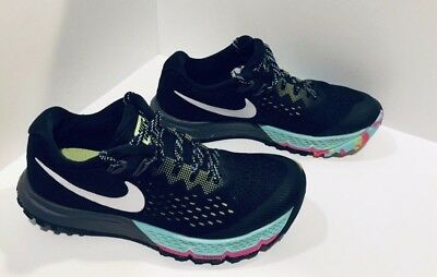 hot sale online 8a1d2 570c1 Nike Air Zoom Terra Kiger 4 Running Shoes Womens Size 5.5 Black 880564-001