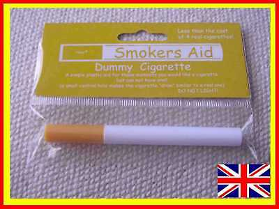 3 x Dummy / Fake smoke free Cigarettes for Fancy Dress, Theatre, Stage, Work etc