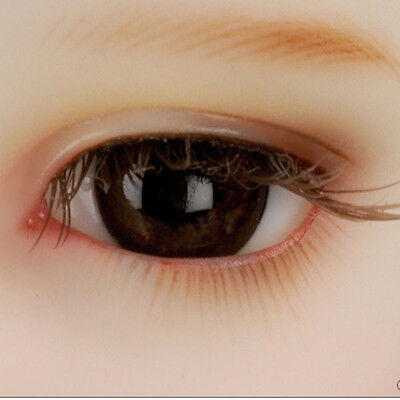Dollmore Eyes  Paperweight 12mm Classic Flat Back Oval Glass Eyes (CC10)