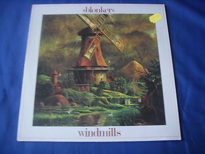 Lp- Blonker Windmills White Disaster Seven Steps Taurus Melodie Intim 1981