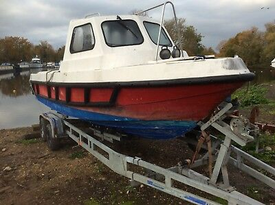 USED Souter 21 Cuddy for Restoration