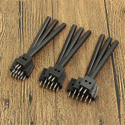 4/5mm Leather Craft Tools Diamond Hole Punche Stitching Prong Punch Tools