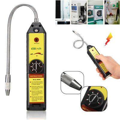 Elitech WJL-6000 Refrigerant Halogen Leak Detector HVAC R134a R410a Air Checker