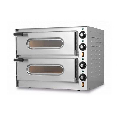 OVEN ELECTRIC FOR PIZZERIA DOUBLE CHAMBER MINI mod. G 1+1 for 2 PIZZAS
