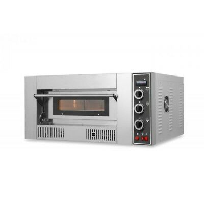 OVEN GAS FOR PIZZERIA SINGLE CHAMBER mod.G9 for 9 PIZZAS