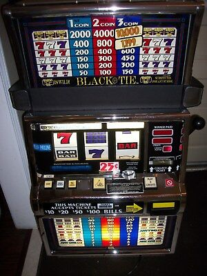 Igts2000 Black Tie 3-Reel Slot Machine