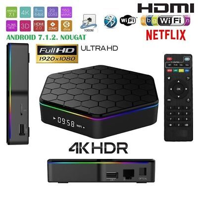 TV BOX ANDOWL Q5 Android 4K ultra HD 3 GB 32G smart tv wifi ANDROID