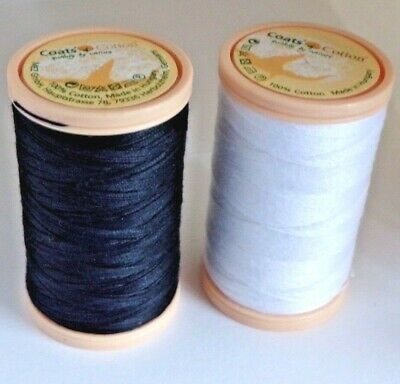 Coats 100% Cotton Sewing Thread - Choose A Colour 100m Reels