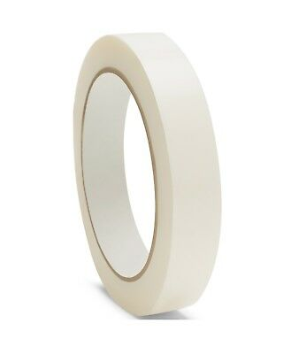 "2.8 Mil White Strapping Tape 3/4"" x 60 Yds Packing Packaging Tapes 672 Rolls"