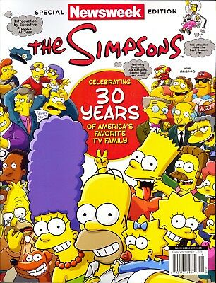 Newsweek Special Edition THE SIMPSONS Celebrating 30 Years (2018)