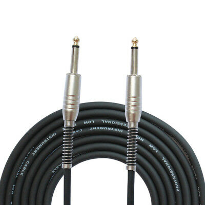 Guitar Instrument Patch Straight 6.5mm JACK Male Lead Cable Cord 3M Connector