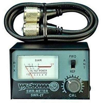 SWR Categories METER For CB Radio Antennas With 3' Jumper Cable - Workman SWR2T