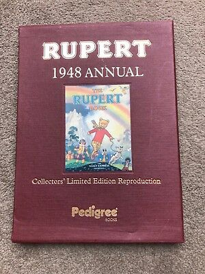 Rupert Bear 1948 Annual, Collectors Limited Edition Reproduction