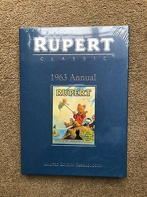 Rupert Bear 1963 Annual. Limited Edition Reproduction.