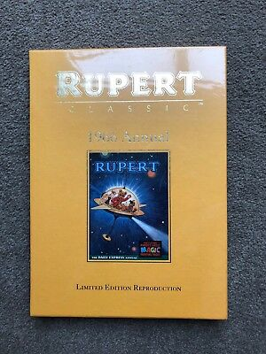 Rupert Bear 1966 Annual. Limited Edition Reproduction.