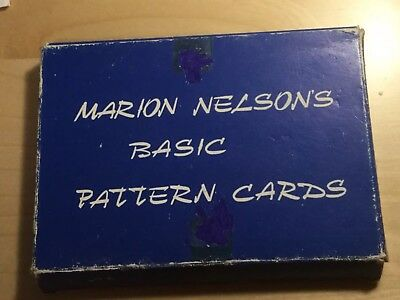 Marion Nelsons Basic Pattern Cards