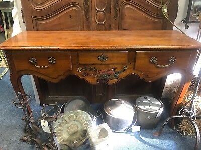 French Phesant Hunting Table Sideboard