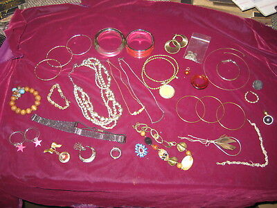 Costume, Vintage,Antique Jewelry Lot, 30 PIECES!  Our REF 1884-2