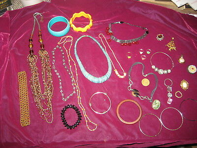 Costume, Vintage,Antique Jewelry Lot, 30 PIECES!  Our REF 1884-3