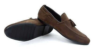 New Men's Faux Suede Leather Tassel Loafers Smart Driving Slip'on Shoe Size 6 11