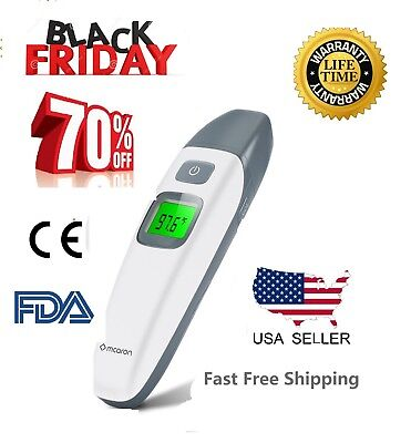 Thermometer digital baby ear infrared electronic medical use kids adult FDA body