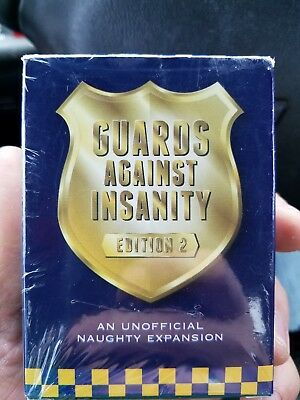 Gaurds Against Insanity edition 2.used with cards against humanity
