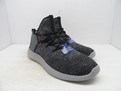 75ce2c6d1919 Skechers Men s Depth Charge Up To Snuff Athletic Shoe Black Gray Size 13M
