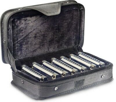 Stagg BJH-B20 Blues Harmonica Set with Case