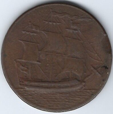 GREAT BRITAIN Non-Local possibly Bewick Main Colliery Withers 1691 Inv 3824