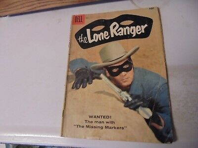 The Lone Ranger Dell Comic Book Vol 1 #119 May 1958