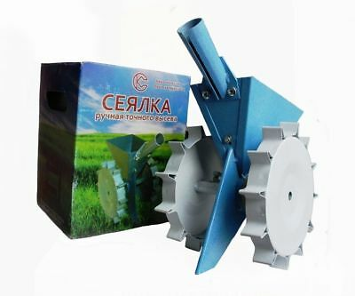 Garden Precision Seeder - Vegetable Row Manual Planter for sowing small seeds
