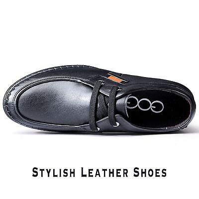 GOG Men Genuine Leather Elevated Formal Shoes In Black US Size 9.5 be52b66eb