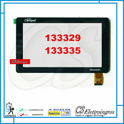TOUCH SCREEN VETRO Per CLEMENTONI Clempad My first 133329 133335