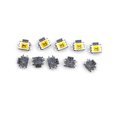 10X YD-3414 4Pin SMD Turtle type Tact Power Side Switch Button FO