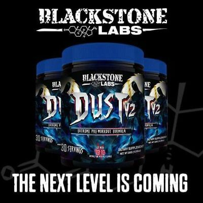 Blackstone Labs DUST V2 30 Servings Extreme Pre Workout, Increased Pumps Energy