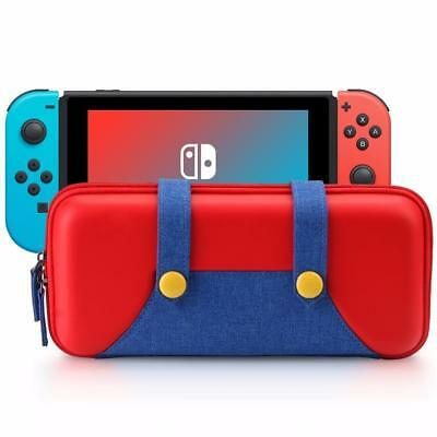 Nintendo Switch Carrying Case Travel Protective Storage Bag Super Mario