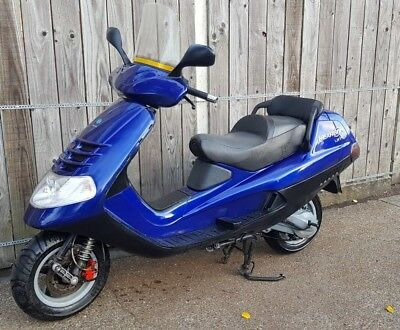 piaggio heaxagon 180 2T not gilera runner or typhoon