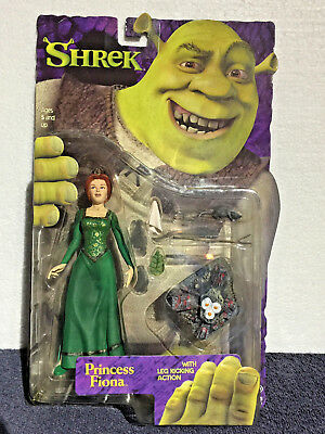SHREK Figure First Movie - P FIONA Egg Rat Salad - 6 Inches Leg Kick Action NEW