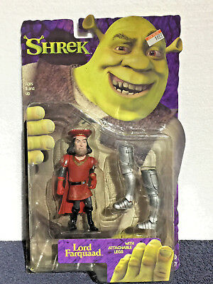 SHREK Figure First Movie - LORD FARQUAAD Series 1 - 5 Inches Attachable Legs NEW