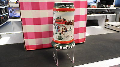 "Budweiser Holiday Stein Collection 1991 ""The Season's Best"" Clydesdale"