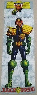 """Judge Dredd fabric wall banner approximate 173cm [68""""]x59cm[23""""] Fast Line 1995"""