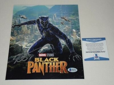 RYAN COOGLER SIGNED AUTOGRAPHED BLACK PANTHER 8x10 PHOTO BAS COA F61727