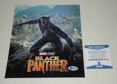 RYAN COOGLER SIGNED AUTOGRAPHED BLACK PANTHER 8x10 PHOTO BAS COA F61728
