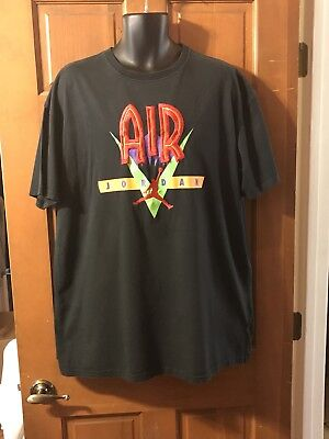 Lot Of 2 OG RETRO VTG NIKE AIR JORDAN T SHIRTS MENS SIZE XXL