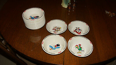 Set of 4 NOS Kellogg's Cereal Bowls 16 Bowls Available