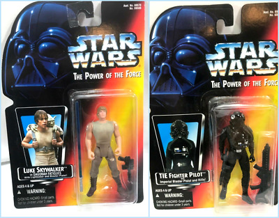 STAR WARS POWER OF THE FORCE POTF 2 ACTION FIGURES 1990's KENNER VTG. Free Ship