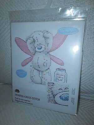 """DMC Printed Cross Stich /"""" Me to You/""""  Patchwork Heart  New Sealed Level Easy"""