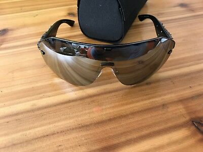 44293ebecd6 Auth Dolce   Gabbana Sunglasses Dg 2150-B Wrap Style In Black   Black  Crystals