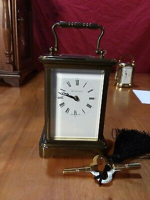 Vintage Tiffany & Co  Swiss Carriage Clock 11 Jewels